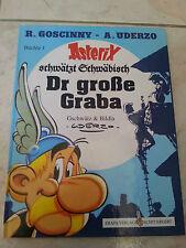 ASTERIX MUNDART - band 1: Asterix schwätzt Schwäbisch - Der große Graba HC; Top