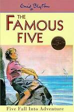 NEW   HARDBACK  (9)  FIVE FALL INTO ADVENTURE ( FAMOUS FIVE book ) Enid Blyton