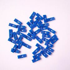 "200 PCS Blue Mini Jumper with Handle 2.54 mm 0.1"" Pin Header Spacing Shunt P35"