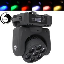 120W 7 LEDs RGBW Touch Screen LED Moving Head Stage Light DJ Party Club Disco
