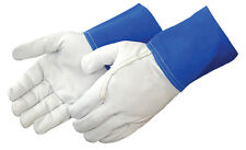 Liberty 7814L MIG TIG Soft Goatskin Welding Gloves Large (12 Pair)