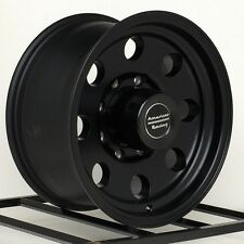 16 Inch Black Wheels Rims Chevy Silverado HD GMC 2500 3500 Dodge RAM Truck 8 Lug
