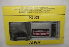 SEALED vintage AIWA HS-J02 Tape Cassette Recorder AM/FM Radio Walkman NEW in BOX