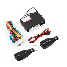 Universal Car 2 Remote Central Kit Door Lock Vehicle Keyless Entry System UK