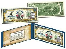 VERMONT Statehood $2 Two-Dollar Colorized U.S. Bill VT State *Legal Tender*