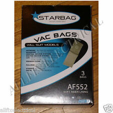 Ducted System Single Vacuum Cleaner Disposable Bags (Pkt 3) - Part # AF552