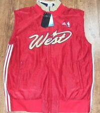 Adidas 2007 NBA All Star West Las Vegas Team Issued Jacket Vest sz 2XL