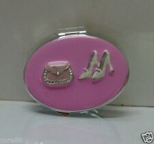 MRE * HAPPYSHOW Two Sided Compact Mirror