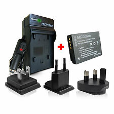 New Battery + Charger DMW-BCG10E for Panasonic Lumix TZ30 TZ20 TZ18 TZ10