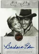 BARBARA EDEN 2007 PRESS PASS - ELVIS is AUTOGRAPH SIGNATURE NICE