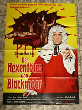 Hexentöter von Blackmoor * Christopher Lee - A1-Filmposter - German 1-Sheet 1970