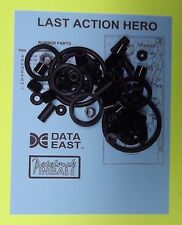 1993 Data East Last Action Hero pinball rubber ring kit
