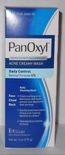 Panoxyl 4 Benzoyl Peroxide Acne Foaming Face Wash 4% Benzoyl Peroxide 6oz