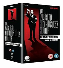 THE ALFRED HITCHCOCK HOUR Complete Collection BOX 24 DVD in Inglese NEW .cp