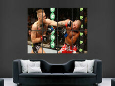 UFC CONOR McGREGOR UFC KICKBOXING WALL POSTER ART PICTURE PRINT LARGE HUGE