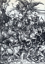 Albrecht Durer Poster Four Horsemen Of The Apocalypse 18x24