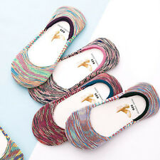 Women Cotton blend Slippers Antiskid Invisible Liner No Show Low Cut Socks
