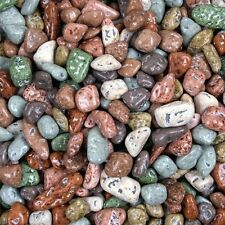 CHOCOLATE ROCKS - RIVER STONES MIX - Candy Coated  - BULK - 4 LB Bag