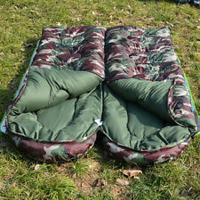 CHEAP Outdoor Camping Hiking Camo Winter Envelope Single Waterproof Sleeping Bag