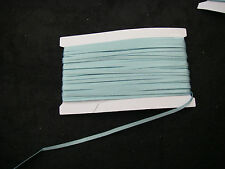 5 Metres BABY BLUE Double Sided Satin Ribbon 3mm NEW 5m + FREE 2 METRES RIBBON