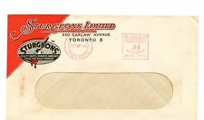 Sturgeons Ltd. paints RED colour nice meter advertising cover Canada