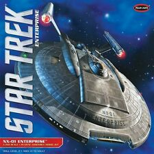 2013 polar Lights #902 1/350 Star Trek Enterprise NX-01 model kit new in the box
