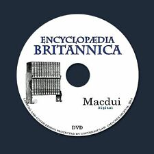 Encyclopedia Britannica - 11th & 12th Editions Complete 32 Volumes PDF on DVD