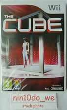 THE CUBE =NEW+SEALED= (Wii) & U=TV Show Voice & Body +33 Games! Tense Family Fun