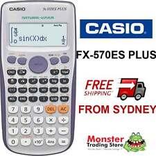 AUSSIE SELLER CASIO SCIENTIFIC CALCULATOR FX-570 FX570 FX570ESPLUS 12 MONTH WRTY