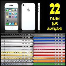 IPHONE 4S FOLIE WEISS MATT ( BUMPER COVER HÜLLE SKIN SCHALE CASE )
