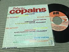 "SALUT LES COPAINS SPANISH 7"" SINGLE SPAIN PROMO MEDLEY SYLVIE VARTAN CHRISTOPHE"