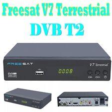 Freesat V7 Terrestrial DVB T2 Satellite Receiver digital HD Full 1080P Decoder