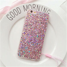 Fashion Full Bling Glitter Soft Silicone Phone Cover Case for iPhone 5 7 6S Plus