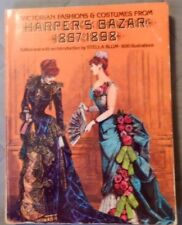 Victorian Fashions and Costumes from Harper's Bazar Hair Styles Hats Lingerie