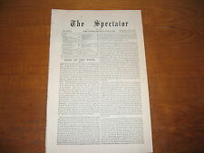 1906 Spectator (London) King & Queen of Spain, Aspects of Golf, German Colonies