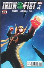 IRON FIST #1 1ST PRINT NM NETFLIX ORIGINAL SERIES 2017 MARVEL COMICS