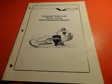 OEM FACTORY KAWASAKI JET SKI VIDEO REFERENCE MANUAL 550 300 X-2