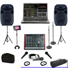 CLUB WEDDING HOME DJ COMPUTER LAPTOP AND KARAOKE SYSTEM 1TB Hard Drive KJ BASIC