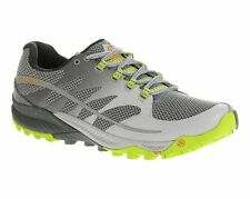 Merrell All Out Charge UK 9 / 9.5 Mens Trail Running Shoes Grey/Green RRP £100