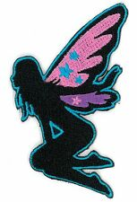 FAIRY PINK WING iron on/sew on Embroidered Patch Applique DIY (US Seller)