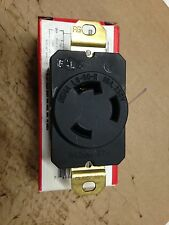 Pass & Seymour locking receptacle L6-30R MADE IN U.S.A. Leviton equivalent 2620