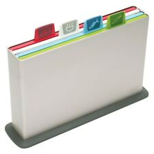 Joseph Joseph Index Chopping Board Set Large Silver New