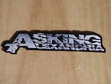 ECUSSON PATCH TOPPA AUFNAHER THERMOCOLLANT ASKING ALEXANDRIA metalcore musique