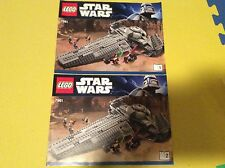 New Lego Instruction Manual ONLY Star Wars 7961 Sith Infiltrator Both Books