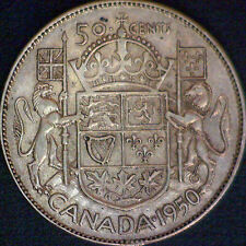1950 Canadian Silver 50 Cent Coin - #1162