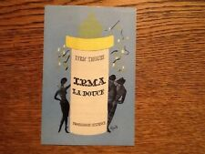 1958 Lyric Theatre Programme: IRMA LA DOUCE featuring Ronnie Barker
