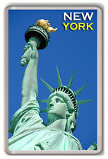 THE STATUE OF LIBERTY NEW YORK FRIDGE MAGNET SOUVENIR IMÁN NEVERA