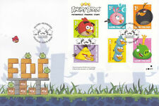 Finland 2013 Angry Birds Animation Cartoons Pig Boom Games (stamp FDC)