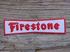 ECUSSON PATCH THERMOCOLLANT aufnaher toppa FIRESTONE pneu tire sport automobile
