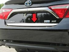RD15130 TOYOTA CAMRY 2015 REAR DECK TRIM STAINLESS STEEL POLISHED CHROME 1PC